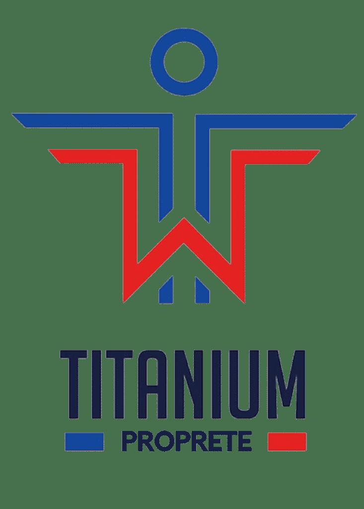 Logo Titanium Propreté
